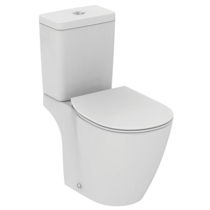 Vas WC Ideal Standard Connect, design spate arcuit
