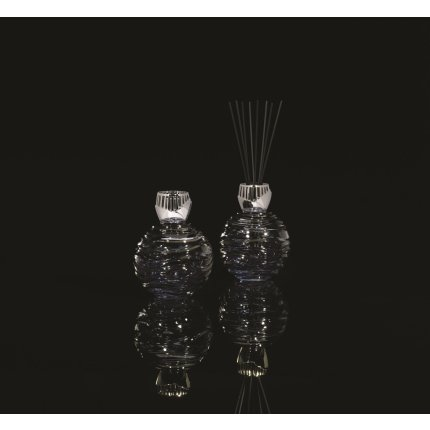 Lampa catalitica Berger Les Editions d'art Crystal Globe Smocked