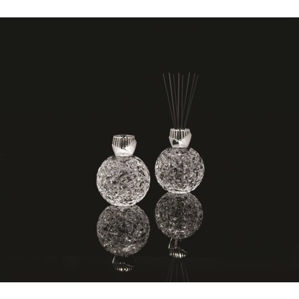 Lampa catalitica Berger Les Editions d'art Crystal Globe Clear