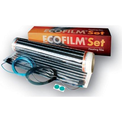 Kit Ecofilm folie incalzire pentru pardoseli din lemn si parchet ES13-550 2,5 mp