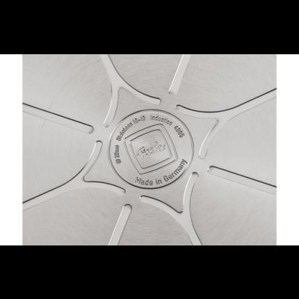 Tigaie inox Fissler Crispy Steelux Premium 24 cm, inductie