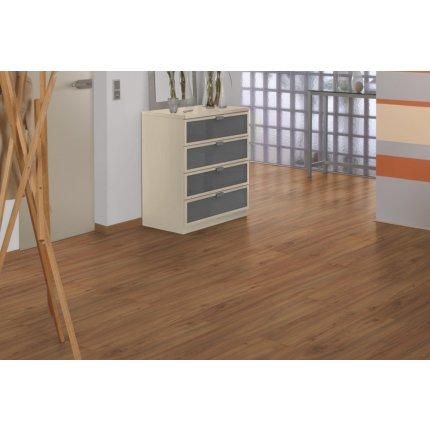 Parchet laminat Egger PRO Design EPD012 5mm, 1295x243mm, Nuc maro