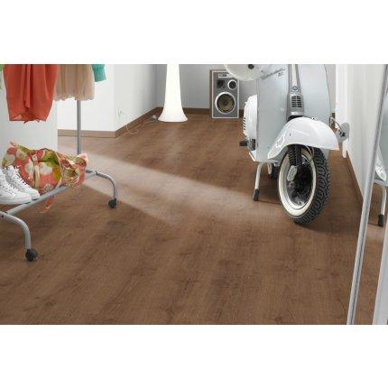 Parchet laminat Egger PRO Design EPD031 5mm, 1295x243mm, Stejar Sanded maro