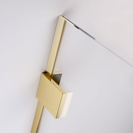 Cabina de dus tip Walk-in Radaway Essenza Pro 8 Gold 80 cm
