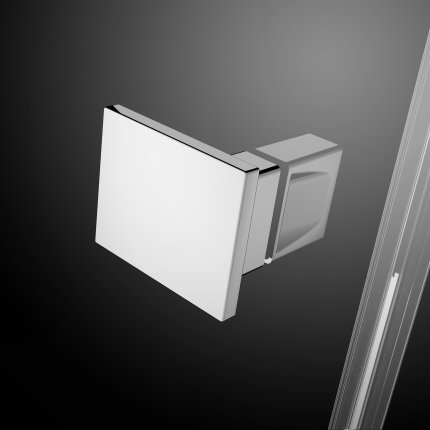 Usa batanta cabina Radaway Essenza New KDJ 120 cm profil crom, sticla clara, orientare stanga