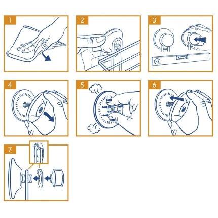 Suport hartie igienica Everloc EL10220