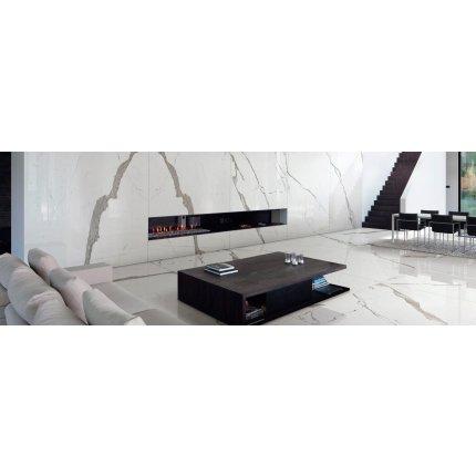 Gresie portelanata FMG Marmi Maxfine 150x150cm, 6mm, Extra White Lucidato