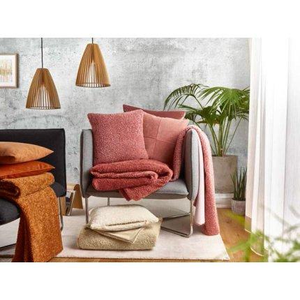 Husa perna Sander Fellini 50x50cm, 26 rosu burgund