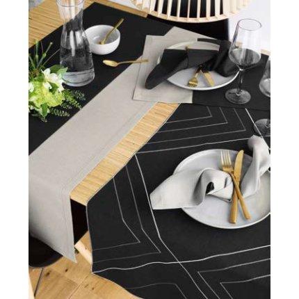 Napron Sander Basics Loft Duo 50x150cm, 39 negru