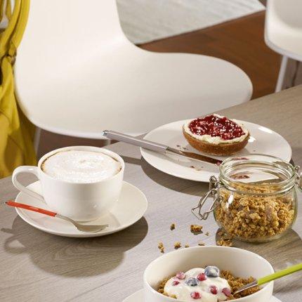 Ceasca si farfuriuta cappuccino Villeroy & Boch For Me Breakfast 0.45 litri