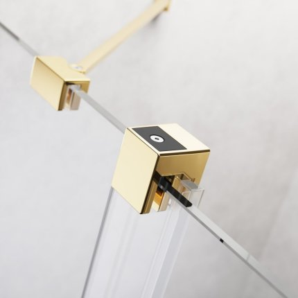 Usa de nisa culisanta Radaway Furo Gold DWJ 160cm deschidere stanga
