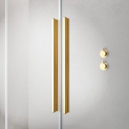 Usa de dus glisanta Radaway Furo Gold KDD 100cm, deschidere dreapta