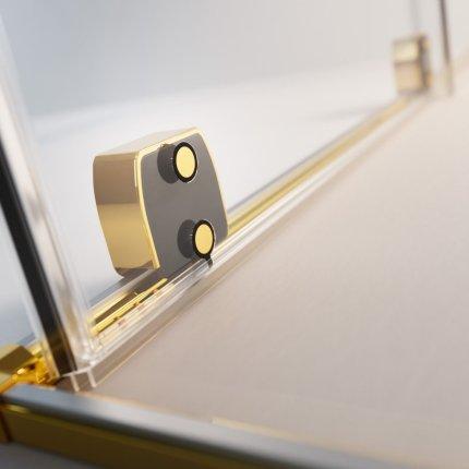 Usa de nisa culisanta Radaway Furo Gold DWJ 90cm deschidere stanga