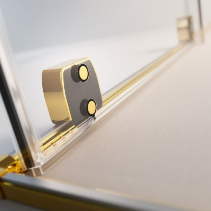 Usa de nisa culisanta Radaway Furo Gold DWJ 120cm deschidere stanga