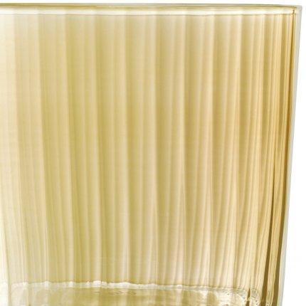 Set 4 pahare LSA International Gems, 310ml, Amber