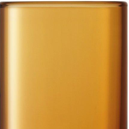 Set 2 pahare LSA International Utility Highball 390ml Amber