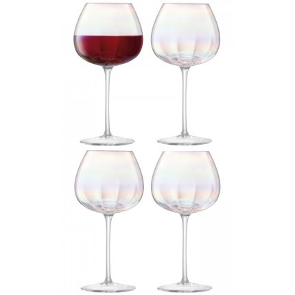 Set 4 pahare vin rosu LSA International Pearl 460ml