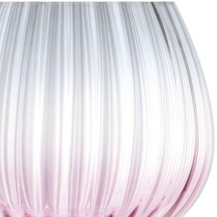 Set 2 pahare LSA International Dusk Balloon Goblet 650ml Pink/Grey