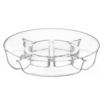 Platou portionat LSA International Serve 35cm