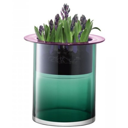 Vaza LSA International Nest 35cm Marine Green/Slate