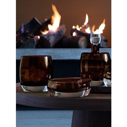 Scrumiera trabuc LSA International Whisky Club 17cm, Peat Brown