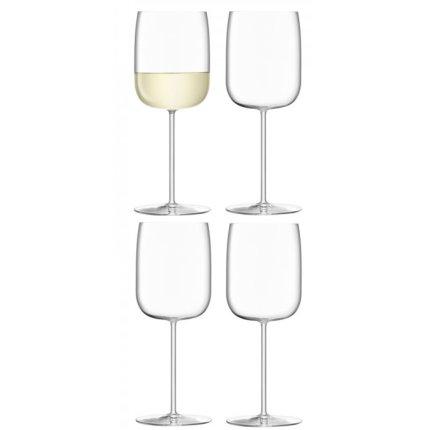 Set 4 pahare LSA International Borough Wine 380ml