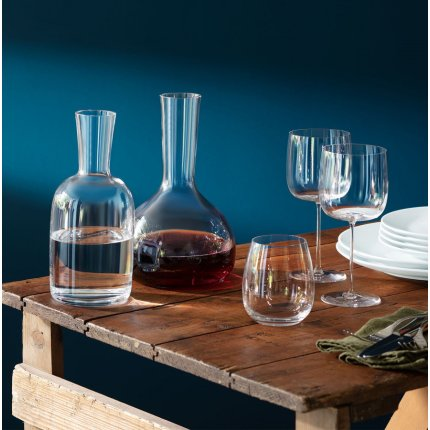 Set 4 pahare LSA International Borough Stemless 455ml