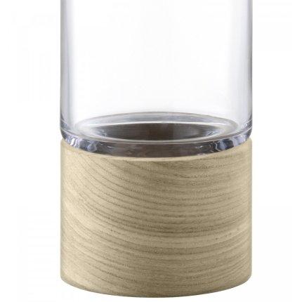 Carafa LSA International Lotta cu picior lemn 1.1 litri