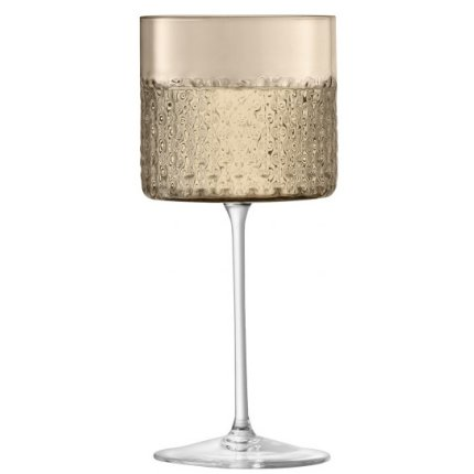 Set 2 pahare LSA International Wicker Wine 320ml, taupe