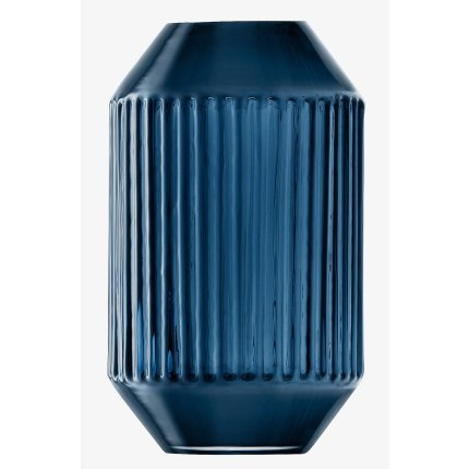 Vaza LSA International Rotunda h15cm, albastru Sapphire