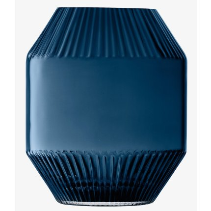 Vaza LSA International Rotunda h20cm, albastru Sapphire