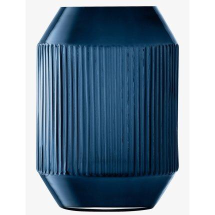 Vaza LSA International Rotunda h26cm, albastru Sapphire