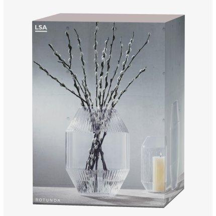 Vaza LSA International Rotunda h37cm, transparent