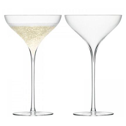 Set 2 pahare LSA International Savoy Champagne 250ml