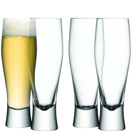 Set 4 pahare bere LSA International Bar Lager 400ml