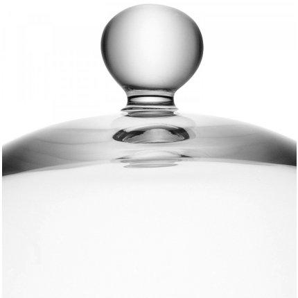 Platou sticla cu capac LSA International Vienna 22cm, h18cm