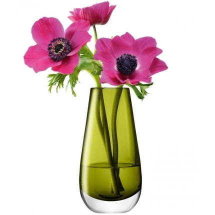 Vaza LSA International Flower Colour Bud h14cm Olive