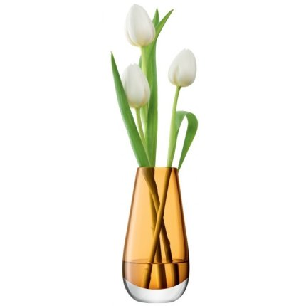 Vaza LSA International Flower Colour Bud h14cm Amber