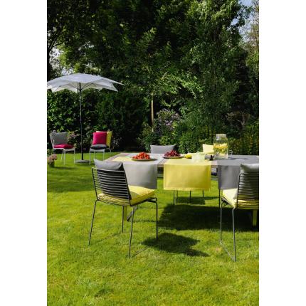 Perna pentru scaun Sander Garden Atmosphere 40x40cm, protectie anti-pata, 34 Graphite