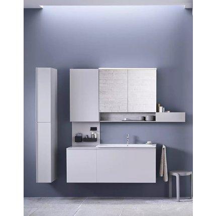 Lavoar Geberit Acanto 75x48cm, montare pe mobilier, alb
