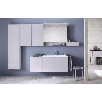 Lavoar Geberit Acanto 75x42.2cm, montare pe mobilier, alb