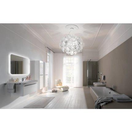 Lavoar Geberit myDay 65x48cm, fara preaplin, montare pe mobilier, KeraTect alb