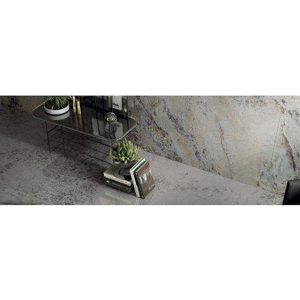 Gresie portelanata rectificata FMG Gemstone Maxfine 300x150cm, 6mm, Pearl Lucidato