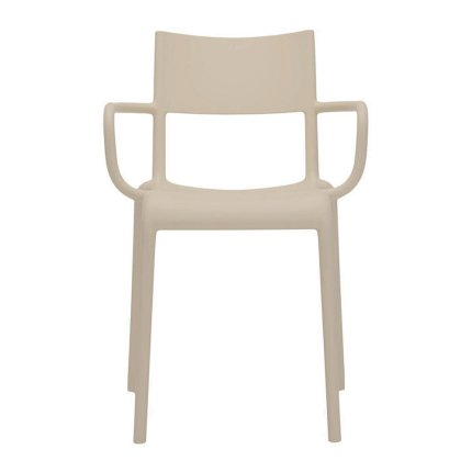 Scaun Kartell Generic A design Philippe Starck, Gri-Bej