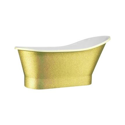Cada freestanding Besco Gloria Glam 160x68cm, Gold