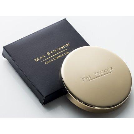 Capac pentru lumanare parfumata Max Benjamin Gold, GiftBox