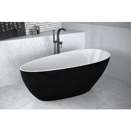 Cada free-standing Besco Goya Black & White 160x70cm