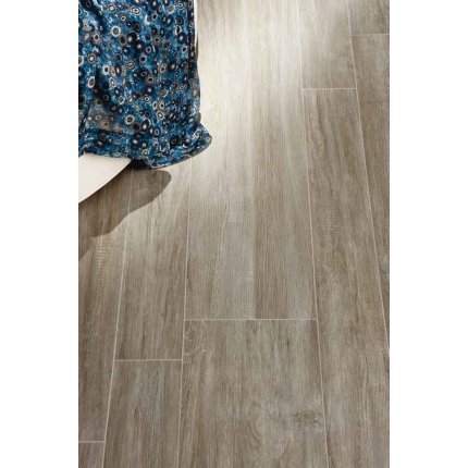 Gresie portelanata Iris E-Wood 90x15cm, 9mm, Grey Antislip