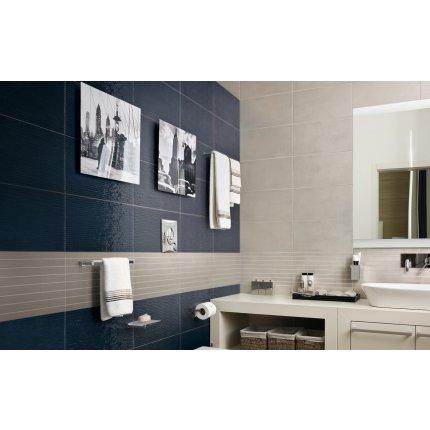 Faianta Iris My Wall 25x46cm, 7.5mm, Grey Glossy
