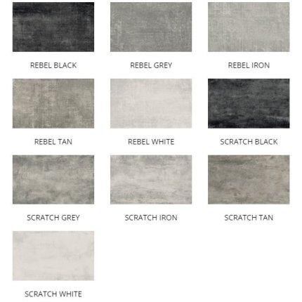 Gresie portelanata rectificata Diesel living Grunge Concrete 60x30cm, 9mm, Scratch White